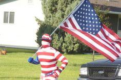 Runners display their American pride - South Platte Sentinel