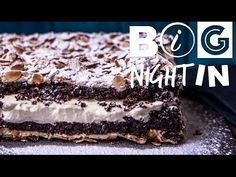 Chocolate Meringue Cake | Big Night In - YouTube