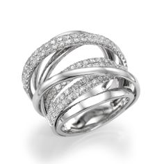 Diamond Fashion Rings Right Hand K White Gold Right Hand Ring