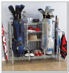 Golf Club Storage Rack