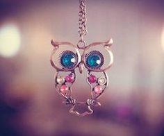 Owl Necklace • Jewelry