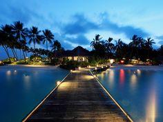 Pathway to Luxury Sunset villa