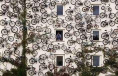 Bike art in Germany