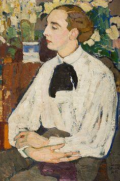 Елена Андреевна Киселева. Санди (портрет художника Александра Стюарта-Хилла) 1910 г.