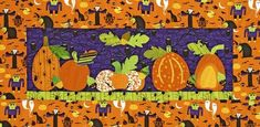 Make a wall hanging with a spooky twist using Halloween prints from the Eerie Alley collection by SEI for Robert Kaufman. Halloween Candy Crafts, Halloween Sewing, Halloween Quilts, Spirit Halloween, Fall Halloween, Halloween Ideas, Fall Sewing, Haunted Halloween, Christmas Sewing
