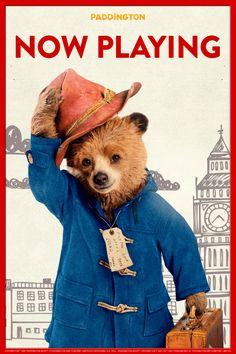 Today's the big day! Paddington can't wait to meet all of his new American friends.