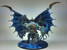 Tzeentch Lord of Change This beauty comes from /r/Warhammer40K user Tzeentched. Reddit user Tzeentched has shown me another stunning conversion a