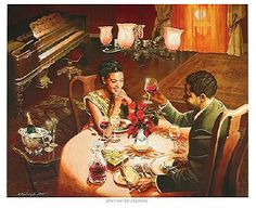 """Enchanted Evening by Edward """"Clay"""" Wright"""