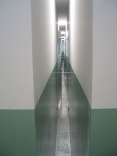 Monika Sosnowska, Installation view, 'Corridor', Istanbul Biennale, Turkey, 2003