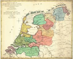 Old Maps, Historical Maps, Holland, Vintage World Maps, Diagram, History, Languages, Posters, Twitter