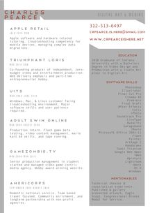 Designer Resume Templates  Google Search  Business Card Ideas