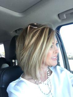Short Hair With Bangs, Short Hair Cuts, Pretty Hairstyles, Bob Hairstyles, Aline Haircuts, Medium Hair Styles, Short Hair Styles, Beauty Barn, Mid Length Hair