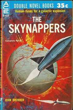 The Skynappers, John Brunner (1960), cover by Ed Valigursky