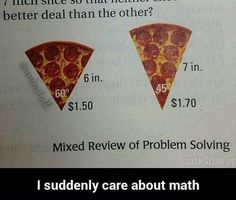 I suddenly care about math - problems like this in jr. high would make more kids pay attention