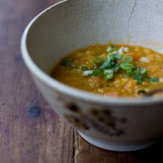 Coconut Red Lentil Soup: from Cumin, Coriander, Turmeric recipes from Yummly