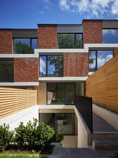 phplus architects|Muswell Hill Housing, London|Back View