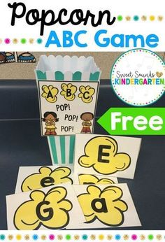 Work on ABCs with alphabet centers! These are great during back to school time and are perfect to review throughout the school year. Plus... a freebie! Click through to get it for your classroom! #alphabet #backtoschool #centers