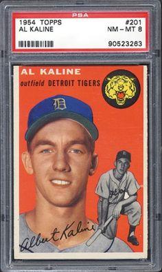 al kaline rookie baseball card - Google Search
