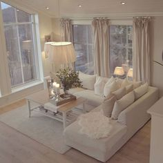 stunning modern dream house interior for living room design ideas Cozy Living Rooms, Home Living Room, Interior Design Living Room, Living Room Designs, Living Room Decor, Interior Paint, Home Decor, Decorating Ideas, Decor Ideas