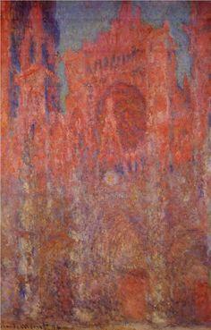 """""""Rouen Cathedral"""" - Claude Monet"""