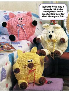 Roly-Poly Pillows