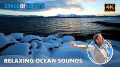 Relaxing ocean sounds of waves crashing against the coastline during the sunset on a cold winter day. Waves are a great sleep sound. Ocean sounds for sleep . Ocean Sounds, Nature Sounds, Winter Sunset, Winter Day, Ocean Waves, Calming, Meditation, Relax, Social Media