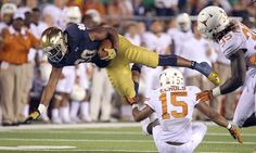 Texas, Notre Dame restrict credentials for September 4 opener = With the exception of team general managers, NFL scouts will not be credentialed for the Notre Dame-Texas football game on September 4.  Texas reportedly made the decision to restrict access, which may damage.....