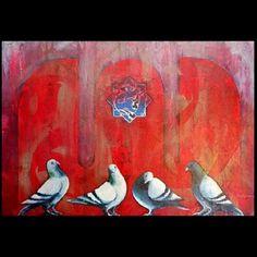 """110 Beğenme, 4 Yorum - Instagram'da Osman Yılmazer - Ressam-Artist (@osmanyilmazerressam): """"#Tuval ustu #karisikteknik #Ölçü 100* 80 cm…"""" Artist, Painting, Instagram, Artists, Painting Art, Paintings, Painted Canvas, Drawings"""