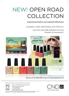 CND Open Road Collection Nail Products, Cnd Shellac, Nails Magazine, You Nailed It, Inspiration, Collection, Biblical Inspiration, Motivation