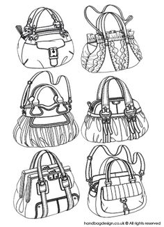 Pumpkin handbag designs by Emily O'Rourke Bag Illustration, Drawing Clothes, Purse Patterns, Technical Drawing, Sketch Design, Fashion Books, Fashion Sketches, Leather Craft, Purses And Handbags