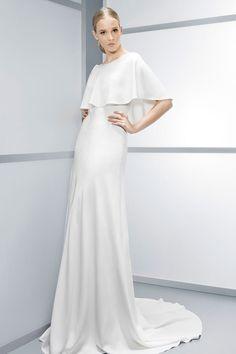 Novia 5, Vestidos De Novia, Vestirse, Invierno, Vestidos Modestos, Modesta  Novia, Diseño Nupcial, Diseño De La Boda, Ideas De La Boda