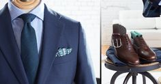 Spring Summer 2017 Office Menswear Outfits - LALONDE's Office Looks, Sports Jacket, Oxford Shoes, Dress Shoes, Menswear, Spring Summer, Shirt Dress, Suits, Jackets