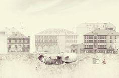 Abschlussarbeit: Eine Moschee für Innsbruck, Ibrahim El Ghoubashy, Universität Innsbruck - Campus Masters | BauNetz.de