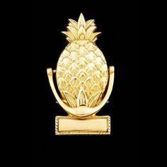 Pineapple door knocker - Welcome