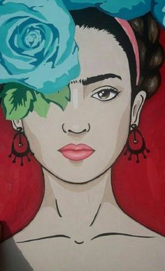 Watercolor Art, Art Painting, Frida Kahlo Paintings, Art Drawings, Drawings, Art Projects, Kahlo Paintings, Art, Pop Art