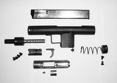 Here are pictures of a neat little submachine gun prototype sent in. It uses minimal components and can be constructed with very basic tooling in short order. The builder made the example pictured as a non-firing replica for obvious legal reasons. The criteria was for a design which can match similar commercial counterparts in terms … Read More …