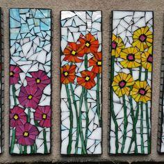 Mosaic Wall, Mosaic Glass, Mosaic Tiles, Glass Art, Mosaic Projects, Stained Glass Projects, Mosaic Designs, Mosaic Patterns, Mosaic Garden
