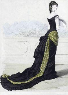 Fashion plate 1870s