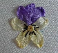 Embroidery Designs Library -- Silk Ribbon Embroidery Kits For Beginners lest Silk Ribbon Embroidery Christmas, Silk Ribbon Embroidery Tutorial Iris past Silk Embroidery Ribbon For Sale Ribbon Embroidery Tutorial, Rose Embroidery, Learn Embroidery, Silk Ribbon Embroidery, Embroidery For Beginners, Embroidery Stitches, Embroidery Patterns, Embroidery Books, Modern Embroidery