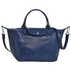 Handbag - Le Pliage Cuir - Handbags - Longchamp - Lemon-yellow - Longchamp United-States