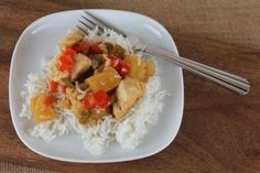 Crock Pot Sweet and Sour Chicken   Use GF soy sauce