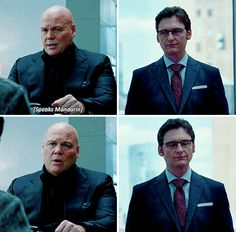 Wesley's reaction when he finds out Fisk could speak Chinese the entire time but just made him translate for the sake of translating.