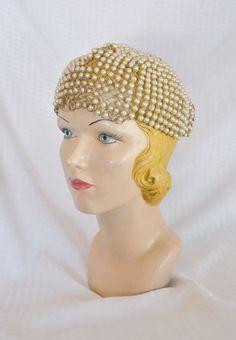 1920s Vintage Burlesque Showgirl Headpiece Hat by MyVintageHatShop