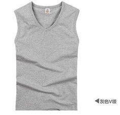 New Sleeveless Vest Mens Tank Tops Shirt Bodybuilding Equipment Men's Tank Top Clothes