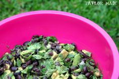 Taylor Made: Black Bean Salad