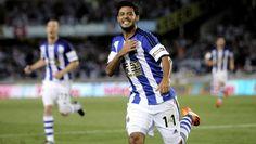 Moyes quiere un Vela goleador en la Real Sociedad - RÉCORD