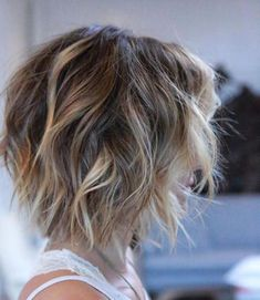 Light shaggy hair with dark roots short blonde hairstyles and haircuts