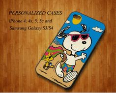 Snoopy Beach  iPhone 4/4s Case iPhone 5/5c Case by Caseinside, $15.00