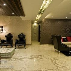 luxury home interior design. color. decorating. architect. modern. marble floor. wallpaper. false ceiling