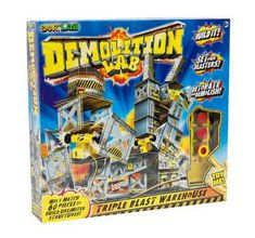 SmartLab Toys Demolition Lab Triple Blast Warehouse - The Nile Young Engineers, Science Kits, Cool Books, Building For Kids, Water Tower, Toys Online, Creative Play, Educational Toys, Mind Blown
